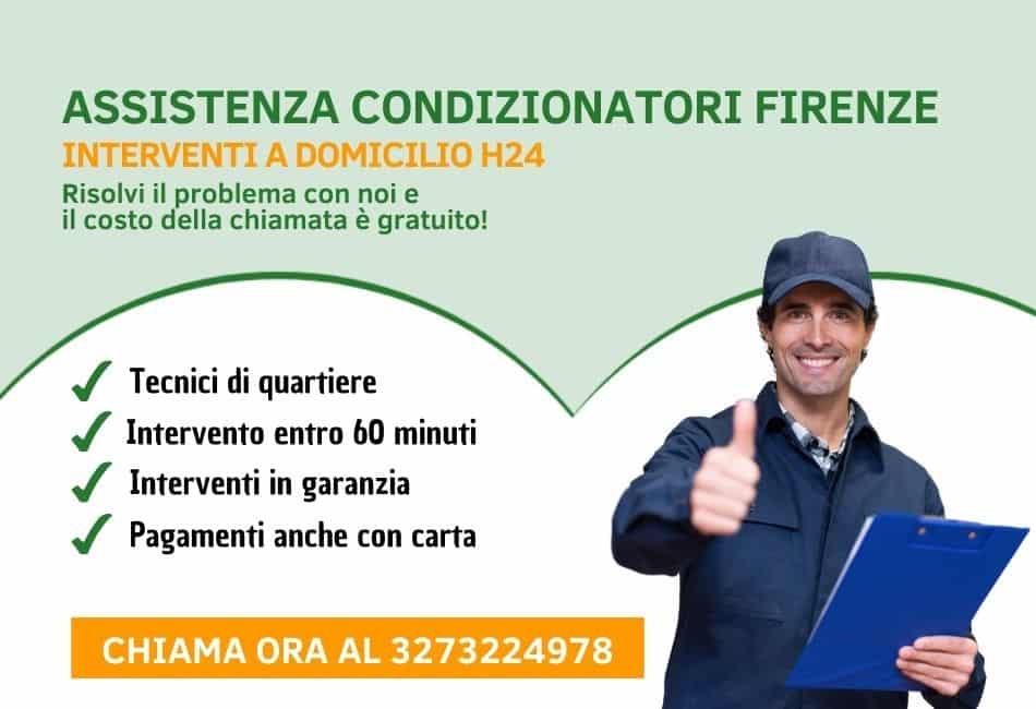 assistenza climatizzatori a Firenze